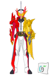 Kamen Rider Saber Dragon Cerberus