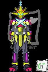 Kamen Rider Saikou X Sword Man by Coeghepher