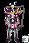 Kamen Rider Zi-O Decade Armor Saber Form