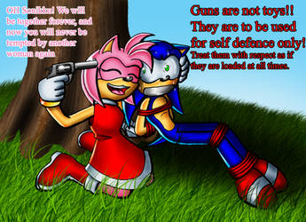 Sonic X Amy Forever by Lord-Kiyo