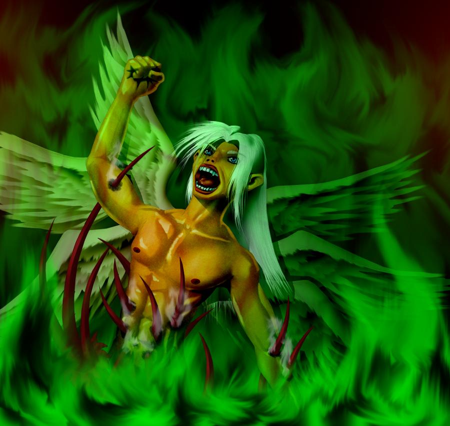 Lucifer The Fallen by Lord-Kiyo