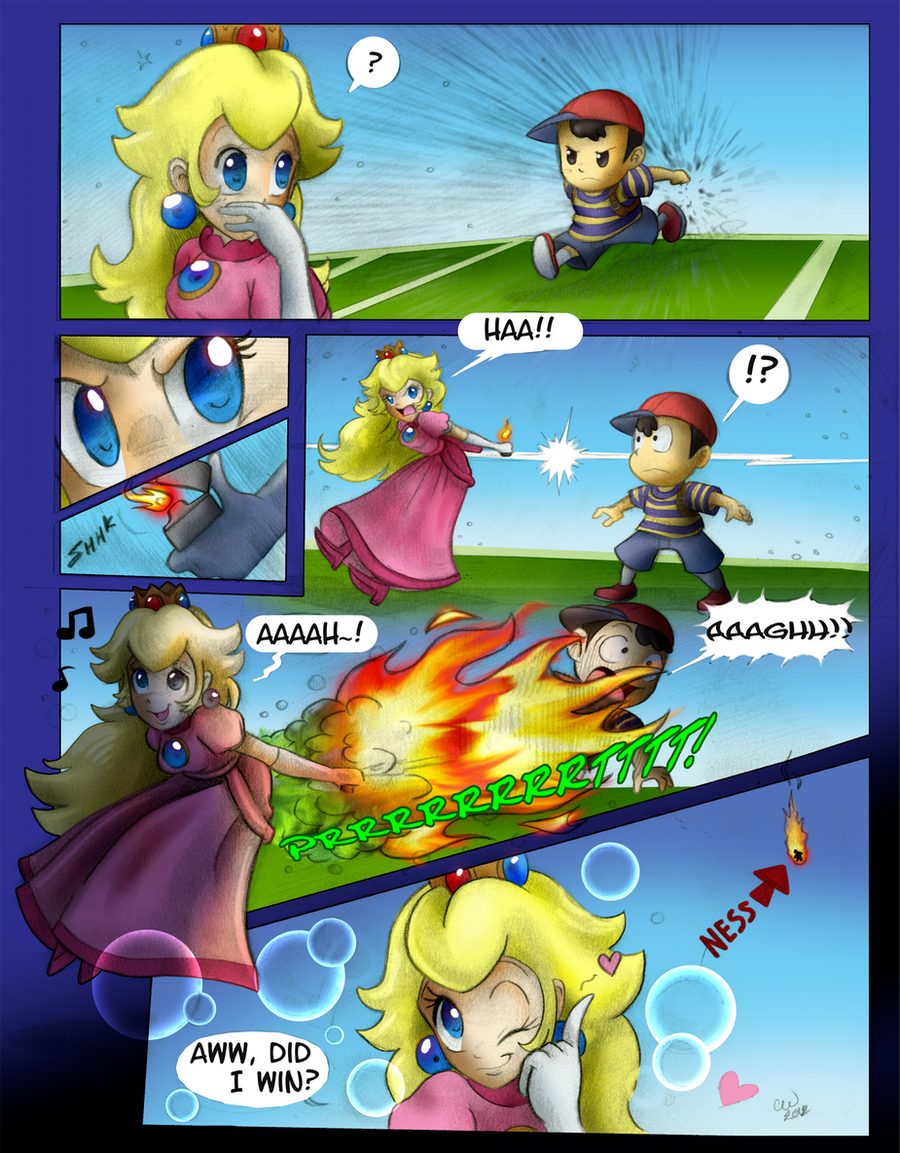 Pics photos funny princess peach pictures -  Peach Fart Boom By Lord Kiyo