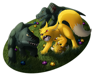 Protective Mother by Lord-Kiyo