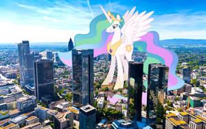 Princess Celestia Dominates by TheOtterPony