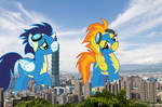 Spitfire and Soarin in Taipei
