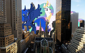 Visiting New York City by TheOtterPony