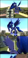 Princess Luna vs Combines