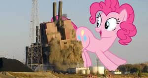Pinkie does demolition
