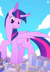 Twilight visits a tiny city