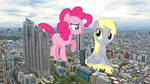Ponies causing chaos in Tokyo