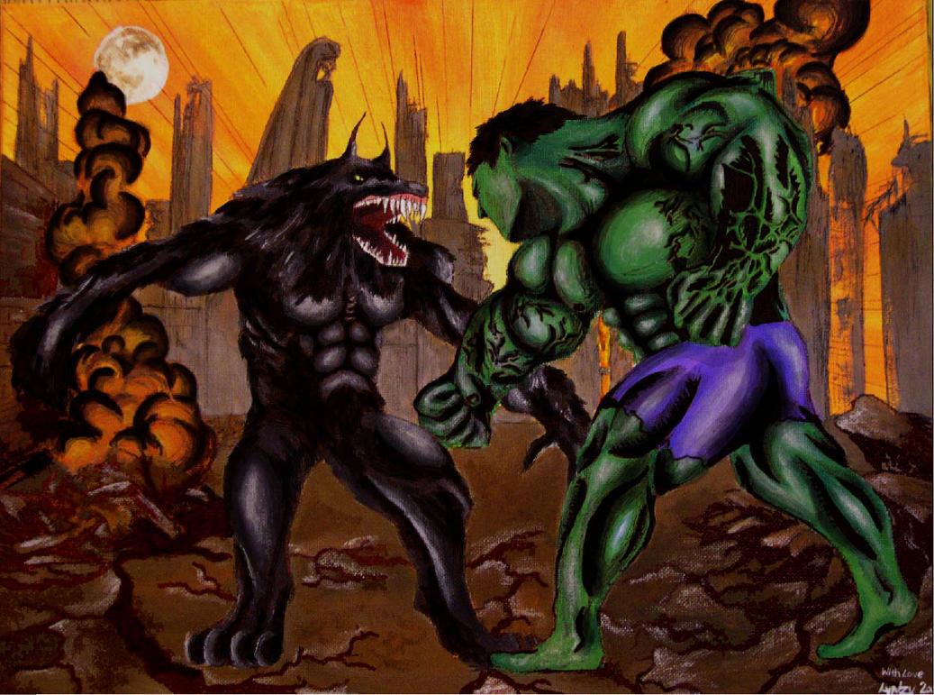 Werewolf vs weretiger - photo#14