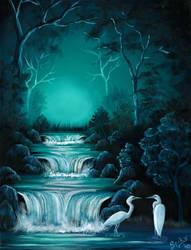 Misty Creek by Spikylein