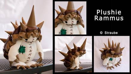 Plushie Rammus by Spikylein
