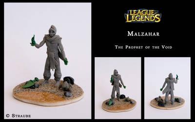 Malzahar - Sculpey by Spikylein