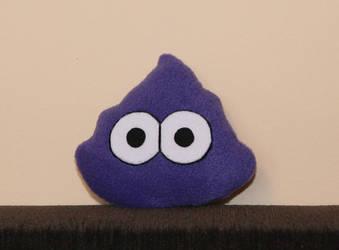 Pou's little purple Poo by Spikylein