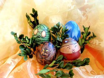 League of Legends Easter Eggs by Spikylein