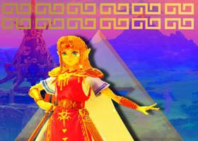 SSBU Edit - Zelda by MarioLuigi721