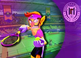 Mario Tennis Aces Edit - Waluigi by MarioLuigi721