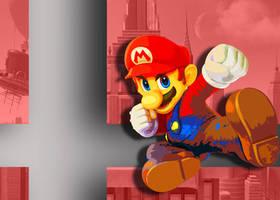 SSBU Edit - Mario by MarioLuigi721