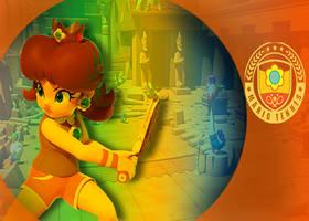 Mario Tennis Aces Edit- Daisy by MarioLuigi721