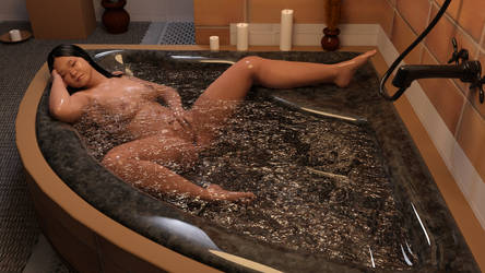 Sensuous  Bath by DoreenG