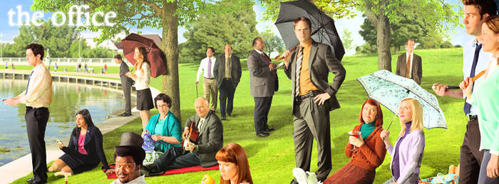 The Office Facebook Timeline Cover 1