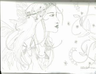 My Blue Fairy by kaleidoscopeeyes