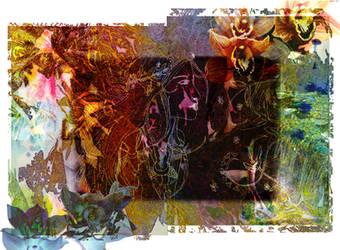 Faery Nature Collage by kaleidoscopeeyes