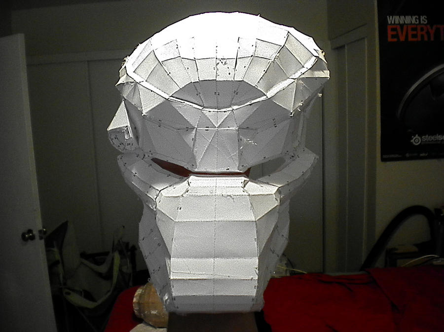 Predator Mask WIP 2 By Freshbreath3