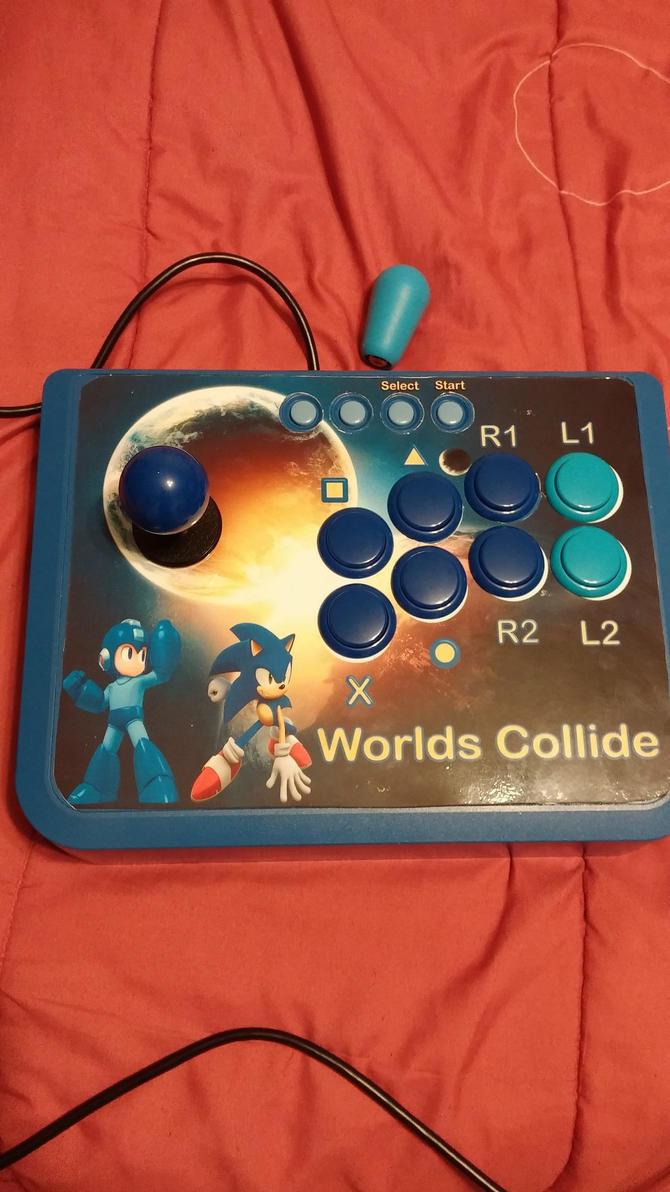 My 2nd Mayflash arcade stick  - Worlds Collide 2 by Freshbreath3