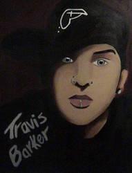 Travis Barker Painting by Jeniy