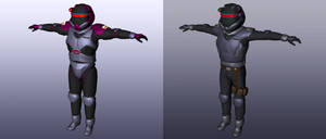 Spacefleet ExoShell MkVd Armours