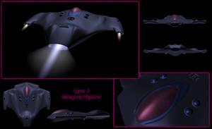 Type I Stingray Fighter MkIIb by saltorio