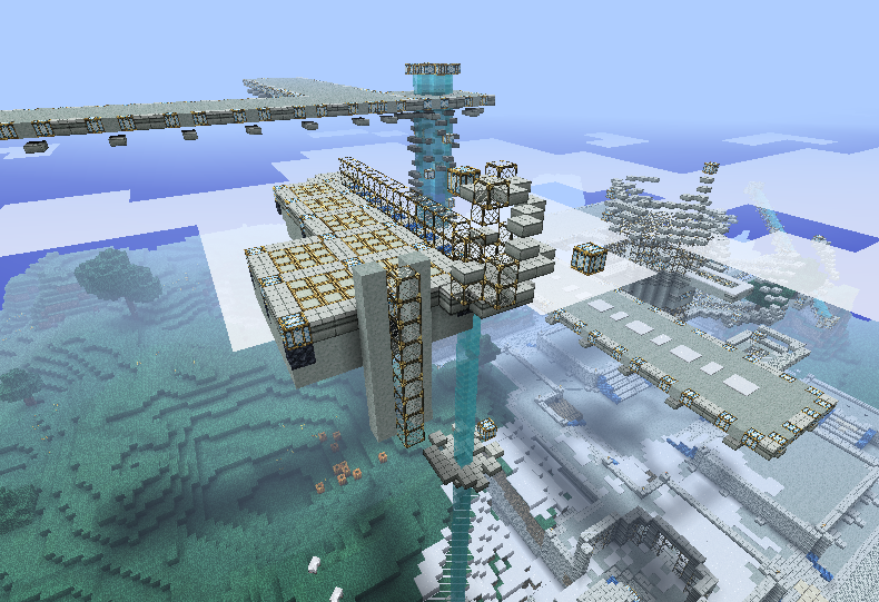 Minecraft 'Core' Air Base Beta by Revhial on DeviantArt