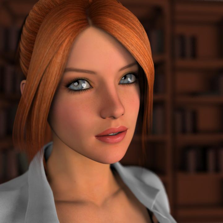 Christina Portrait by soup-sammich