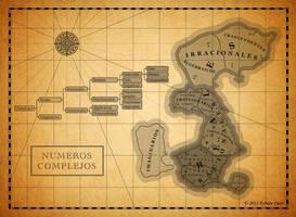 Mapa de los numeros complejos