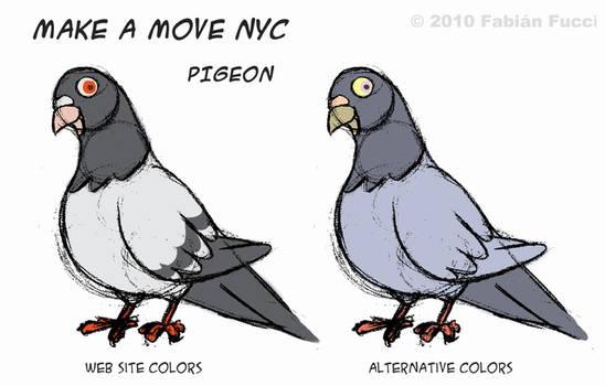 Pigeon color schemes by fabianfucci