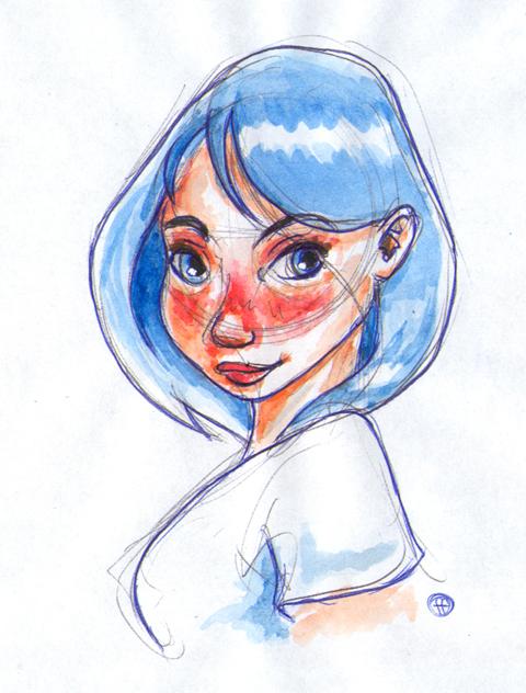 Girl by fabianfucci
