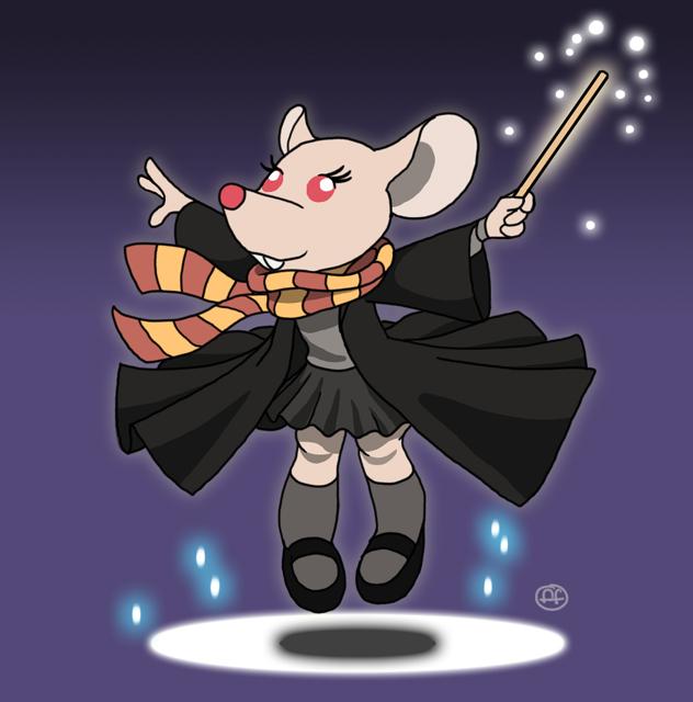 Mousey Potter by fabianfucci