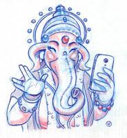 Ganesha by fabianfucci