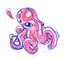 Octopus by fabianfucci