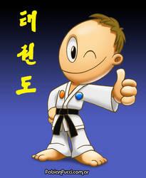 Taekwon-do Black Belt by fabianfucci