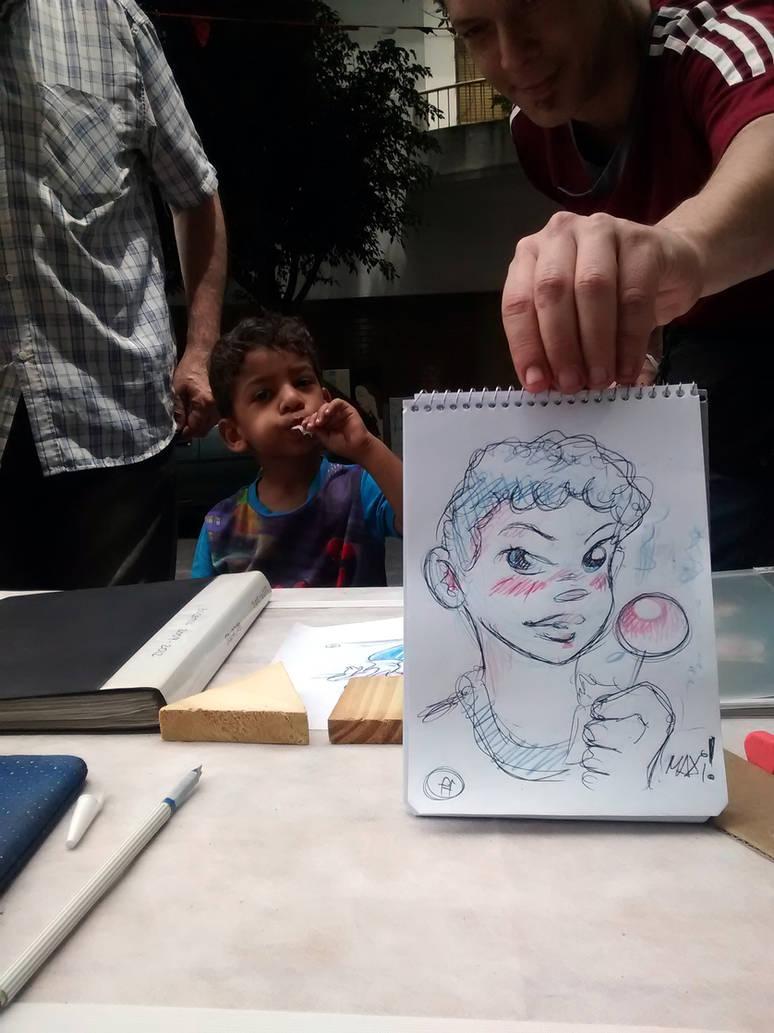 Little kid by fabianfucci