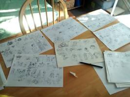 Comic scriptwriting by fabianfucci