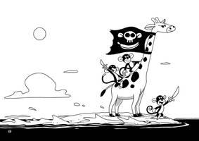 Pirate island by fabianfucci