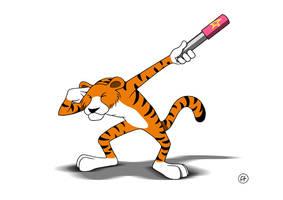 Bengal tiger by fabianfucci