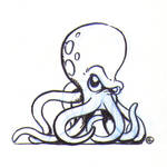 Walking octopus
