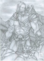 Barbarian on the Montains by The-Last-Barbarian