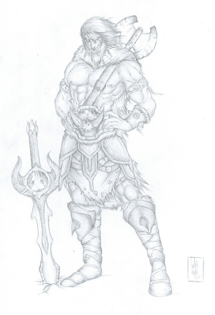 Beelthand the Barbarian by The-Last-Barbarian