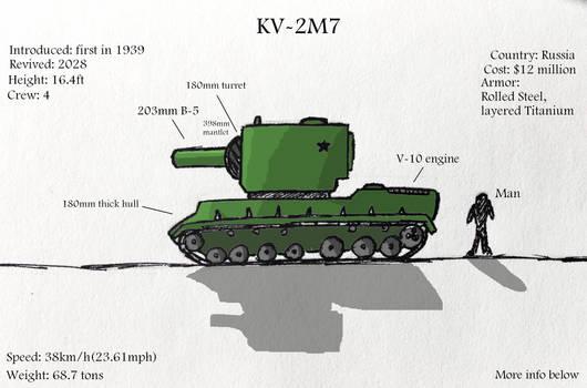 KV-2 Heavy tank (revived for 2028)